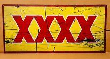 NEW XXXX metal tin sign