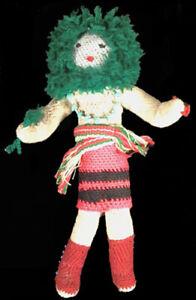 Vintage yarn doll ~ Native American Hopi Indian