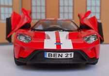 FORD GT 2017 PERSONALISED PLATES Toy Car MODEL boy girl dad BIRTHDAY GIFT NEW!!