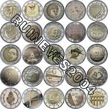 29 x 2 Euro Commemorative coins 2016 - Uncirculated Coins ** Complete SET * RAR
