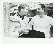 1965 Bart Starr / Zeke Bratkowski Green Bay Packers 8x10 B&W Photo
