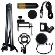 Bm800 Pro Condenser Microphone Kit Studio Audio Recording Microphone Stand Sets