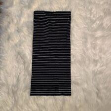 Polo by Ralph Lauren Women's Size XS Strapless Bodycon Dress Navy Blue White