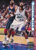 Karl Malone 1996-97 Topps Stadium Club #135 Utah Jazz Card