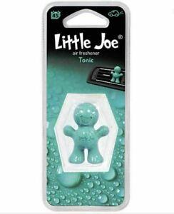 Little Joe 3D Gel Car Vent Clip Car Air Freshener - TONIC *FAST UK DISPATCH*
