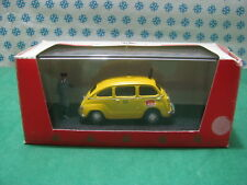 Vintage  -   FIAT 600 D  Multipla Taxi con Tassista  -  1/43  Giocher