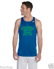 NWOT E6  3XL   Royal Blue Azul real New Balance Men's Tempo Running Singlet 9138