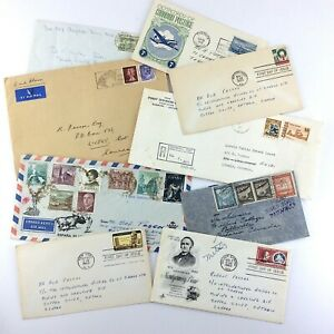 First Day Worldwide Cover Lot Postal History S552