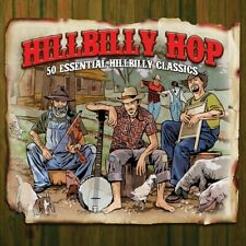 HILLBILLY HOP - HANK WILLIAMS TENNESSEE ERNIE FORD RED FOLEY - 2 CDS - NEW!!
