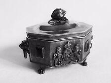 Antique Imperial Russian Silver 84 Sugar Box Ethrog COLLECTION SALE!