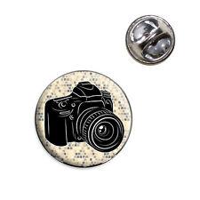 Photographers Camera Lapel Hat Tie Pin Tack