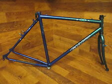 VINTAGE GIANT NUTRA CHROMOLLY STEEL CANTILEVER/V-BRAKE 700C FRAME SET- 56CM