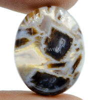 Cts. 16.30 Natural Turkish Stick Agate Cabochon Oval Cab Loose Gemstone