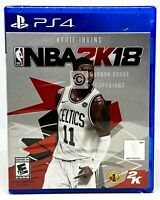 NBA 2K18 - PS4 - Brand New | Factory Sealed