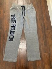 True Religion Men Sweatpants  Grey pants Large L