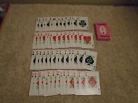 VINTAGE FURADAN INSECTICIDE AGRICULTURE ADVERTISING PLAYING CARDS with BOX