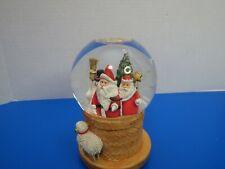 Hallmark Christmas Musical Snow Globe Marjoleim Boudin Plays Jingle Bells Video
