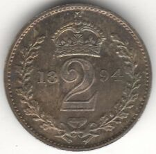 More details for 1894 victoria maundy twopence | silver | coins | british | pennies2pounds (7)