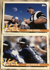(2) 2020 Opening Day Frank Thomas Ken Griffey Jr. Spring Has Sprung Lot (A)