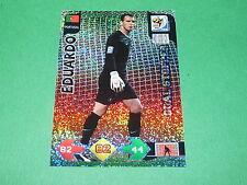 EDUARDO PORTUGAL  PANINI FOOTBALL FIFA WORLD CUP 2010 CARD ADRENALYN XL