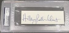 Hillary Rodham Clinton Signed Autograph Signature Psa/Dna Authenticated