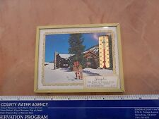 1967 JOSEPH'S HOUSE OF TREASURED GIFTS -- SAN FRANCISCO ADVERTISING THERMOMETER