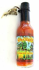 Gator Sizzlin Hot Sauce with FREE Alligator Claw Keychain Gator Paw