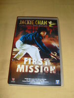 JACKIE CHAN First Mission (Heart Of Dragon) VHS arts martiaux