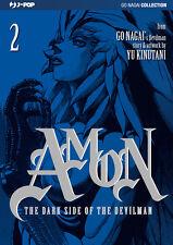 JP1191 - Manga - J-Pop - Amon The Dark Side Of The Devilman 2 - Nuovo !!!