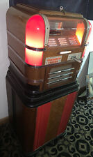 Wurlitzer 61 Jukebox And Stand Well Preserved - Works