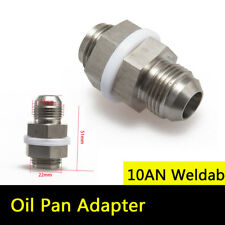 Universal Steel Oil Pan Return Drain Plug Adapter Bung Fitting 10An Weldable