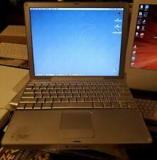 "Apple PowerBook 12.1"" A1010 - M8760Ll/A 2003 867mhz 640mb ram 37gb triple boot"
