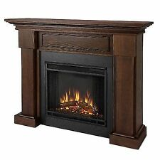 Real Flame 7910e-co Hillcrest Electric Fireplace in Chestnut Oak