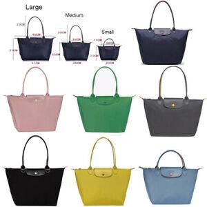 Womens Longchamp Le Pliage Nylon Bag Tote Handbag Travel Wallet Bags Large&Small