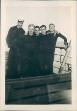 Photo Royal Navy Servicemen on Ferry Shore leave