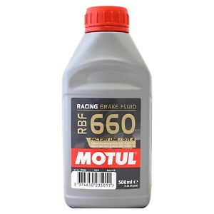 Motul RBF 660 Factory Line Synthetic DOT 4 Racing Brake Clutch Fluid 500ml 0.5L