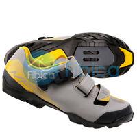 New 2019 Shimano SH-ME3 Mountain Cycling SPD Men Shoes Gray Yellow EU41-44