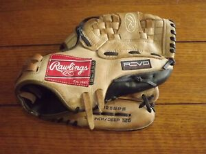 "Rawlings REVO SC350 RE125BPS Right Hand Throw Baseball Glove 12.5"" / Deep 126"
