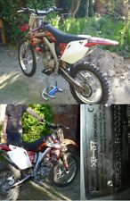 Voll Cross Maschine, X-Moto XB 37 (Honda CRF 250, 4 Takt)