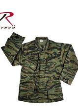 US ARMY M64 VESTE DE COMBAT AUTHENTIQUE Vietnam Fatigue Ripstop Tigre stripe