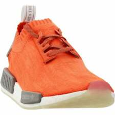 adidas Nmd_R1 Primeknit Lace Up  Mens  Sneakers Shoes Casual   - Orange