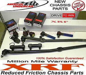 XRF Lifetime Ball Joint Tie Rod Drag Link Kit fits Ford F350 4x4  1992 - 1997