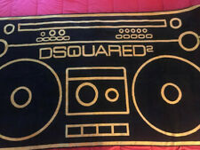 Dsquared²  Mare Beach Towel, LIMITED EDITION Made in italy