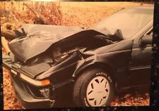 Nissan 200 SX Wrecked Car Vintage Lot 8 Photos Accident