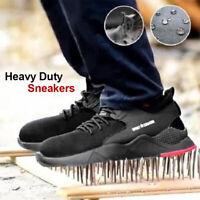 Heavy Duty Sneaker Work Shoes Men Trainers