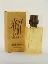 Cerruti 1881 Amber Eau de Toilette EDT Spray 1.7 fl oz 50ml New In Box