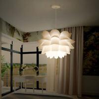 Lotus Anhänger Kronleuchter Decken Lampe Wandbehang Licht Lampenschirm DIY Dekor