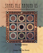 Primitive & New Quilts Rugs Punchneedle Cross-Stitch Stars All Around Us Designs