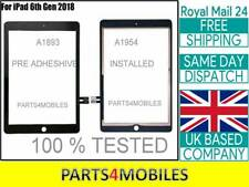 For iPad 6th Gen 2018 A1893 A1954 OEM Touch Screen Glass Digitizer Replacement