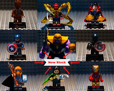 Marvel Moc Minifigure Avengers End Game Iron Man Thor Spider Man Custom Lego AU